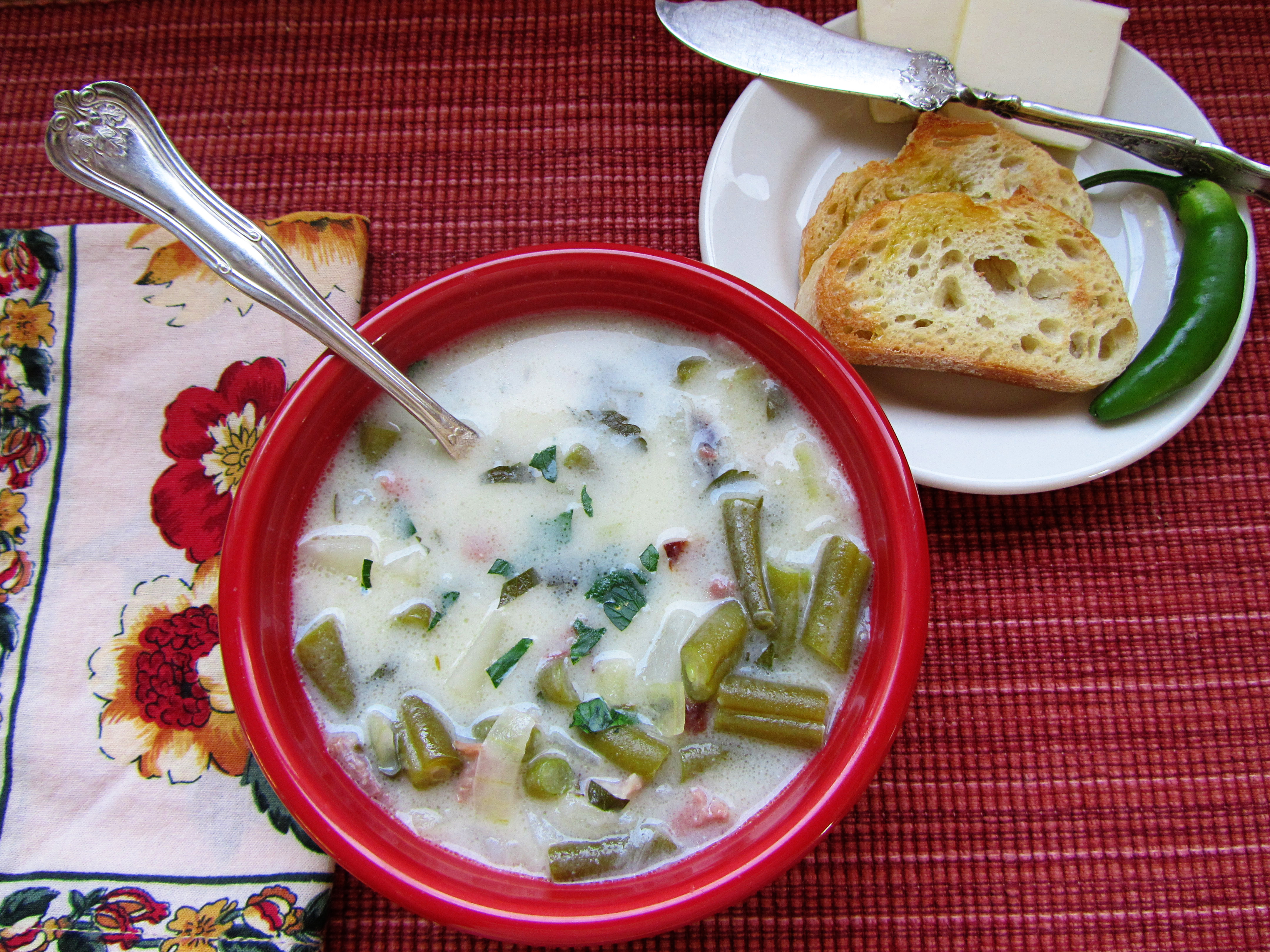 Back-to-School Green Bean Soup